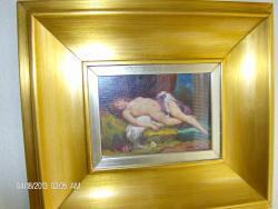 Picturi cu potrete/nuduri nud intins nr1