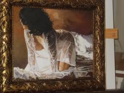 "Picturi cu potrete/nuduri pictura de colectie-""mama natura"""