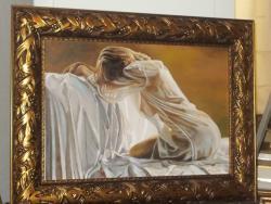 Picturi cu potrete/nuduri transparente