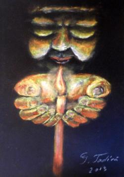 Picturi cu potrete/nuduri Ruga (pastel)
