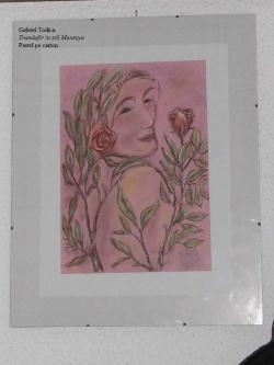 Picturi cu potrete/nuduri Trandafir in stil Montoya
