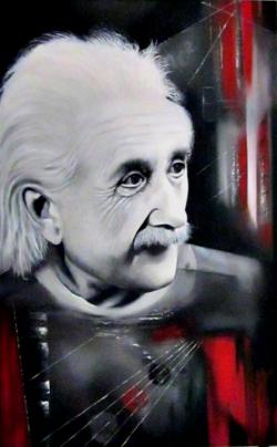 Picturi cu potrete/nuduri  Einstein