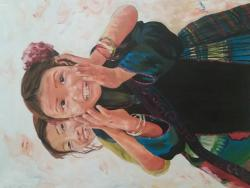 Picturi cu potrete/nuduri Les filles