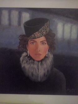 Picturi cu potrete/nuduri Ana Karenina