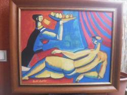 Picturi cu potrete/nuduri absztrkt akt
