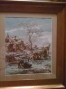 Picturi de iarna Iarna olandeza