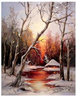 Picturi de iarna ACEEASI ALTA IARNA (2)