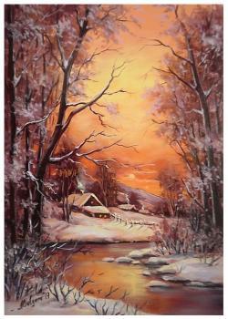 Picturi de iarna ACEEASI IARNA IREALA
