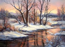 Picturi de iarna AMIAZA NINSA IN ZAVOI