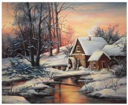 Picturi de iarna AMURG INGHETAT