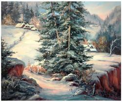 Picturi cu peisaje ASTEPTARI TACUTE