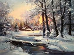 Picturi de iarna DIN POVESTILE IERNII