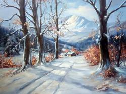 Picturi de iarna IARNA DORNELOR
