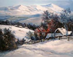 Picturi de iarna O IARNA GREA
