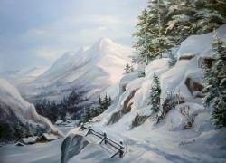 Picturi de iarna IMPARATIA GERULUI