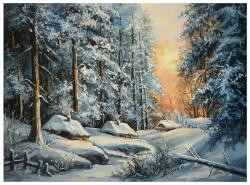 Picturi de iarna LA O MARGINE DE IARNA