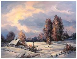 Picturi de iarna MAGIA INSERARII