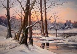 Picturi de iarna PAZNICII SATULUI