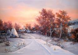 Picturi de iarna SUB GERUL BOBOTEZEI