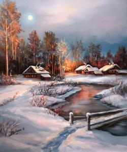 Picturi de iarna SUB VRAJA LUNII (2)