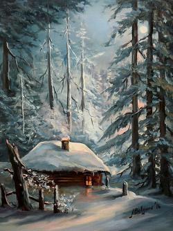 Picturi de iarna TAINA NOPTII