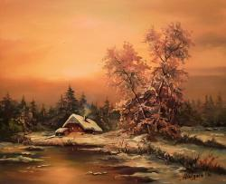 Picturi de iarna TIMP MAGIC (2)