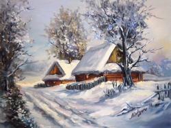 Picturi de iarna ULITA NINSA