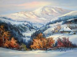 Picturi de iarna VIS DE IARNA