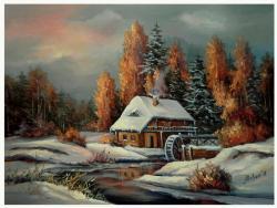 Picturi de iarna VRAJA NOPTII