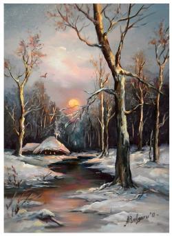 Picturi de iarna ZORI NINSI