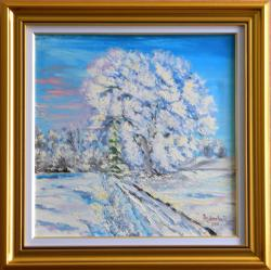 Picturi de iarna Iarna senina