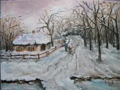 Picturi de iarna In toiul iernii