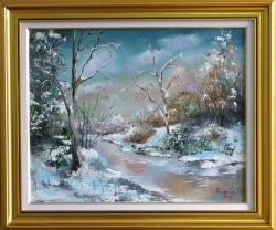 Picturi de iarna MAGIA IERNII