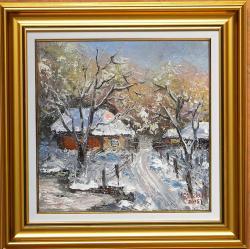 Picturi de iarna PAGINA DE IARNA