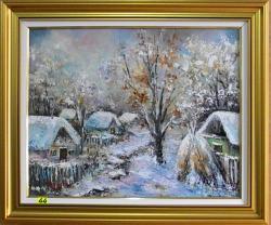 Picturi de iarna ZAPADA PESTE SAT 2