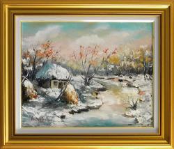 Picturi de iarna ZI DE IARNA SENINA
