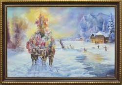 Picturi de iarna Plugul de anul nou