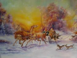 Picturi de iarna troica