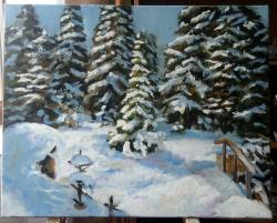Picturi de iarna Winter is coming