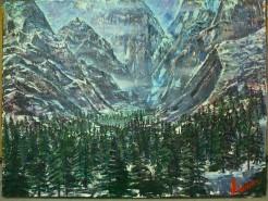 Picturi de iarna Liniste alba