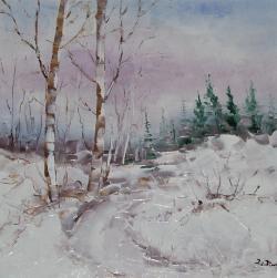 Picturi de iarna Iarna.