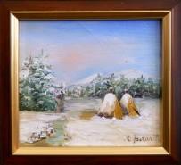Picturi de iarna Miniatura iarna