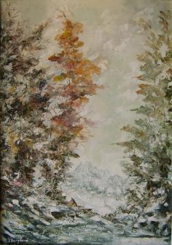 Picturi de iarna Brumar