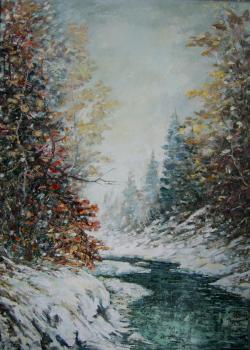 Picturi de iarna iarna pe vale