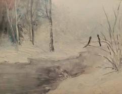 Picturi de iarna Ger