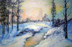 Picturi de iarna geroasa iarna