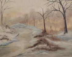Picturi de iarna Gerul iernii