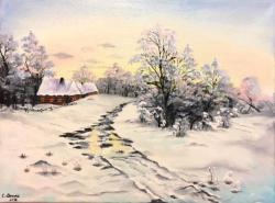 Picturi de iarna Iarna 001