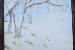 Picturi de iarna iarna in Mogosoaia