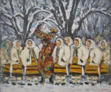 Picturi de iarna Iarna in maramures